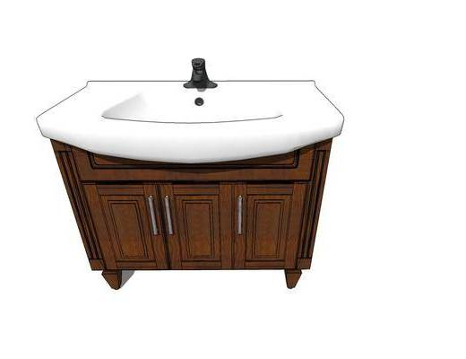 洗手盆, 柜架组合