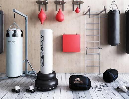 拳击沙包, 拳击设备, 拳击套, 健身器材