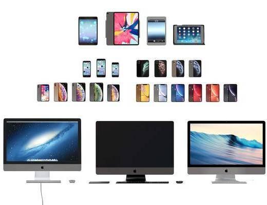 苹果电脑, 苹果手机, 苹果平板