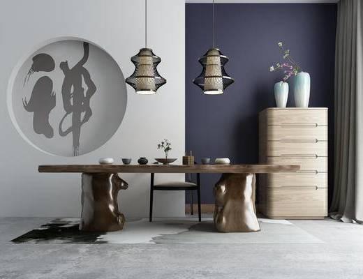 中式, 茶室