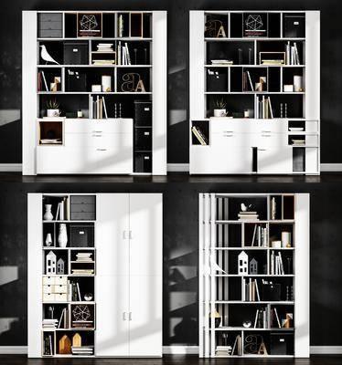 书柜, 书架, 书籍
