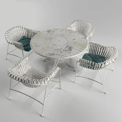 桌椅组合, 户外椅