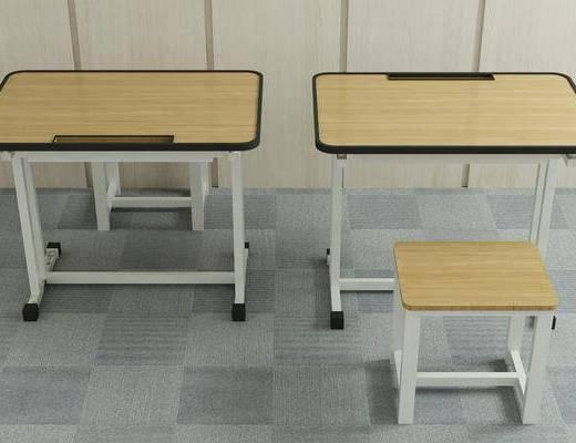 书桌, 学生桌, 书桌椅