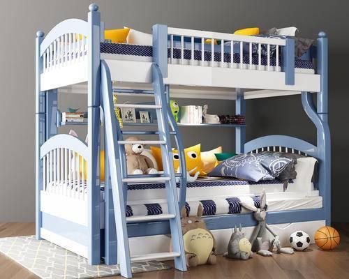 地中海, 地中海床, 兒童床, 上下床, 子母床, 玩具, 玩偶
