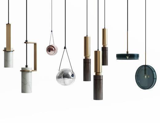 吊灯组合, 现代
