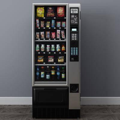 自动售货机, 零食组合, 饮料组合, 现代