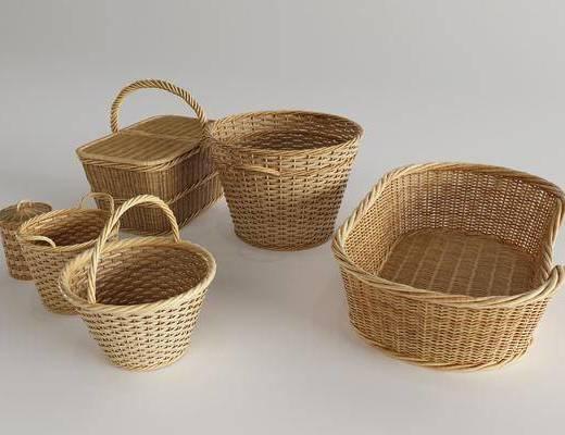 竹筐, 日用品