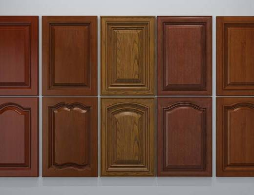欧式, 实木, 门板, 柜门