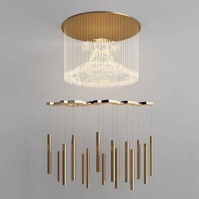 吊灯, 金属吊灯, 灯, 灯具