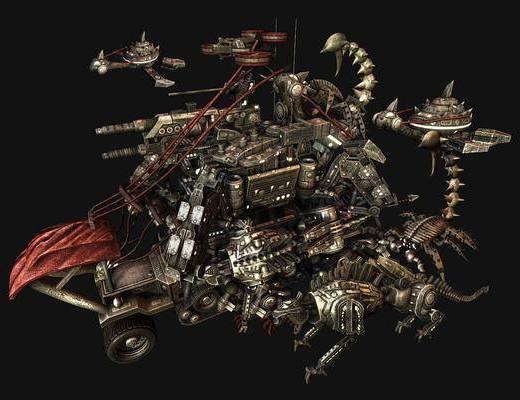 工业风, 机器人, 摆件