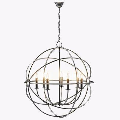 现代吊灯, 吊灯, 金属, 现代