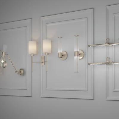 壁灯, 金属壁灯, 后现代, 现代