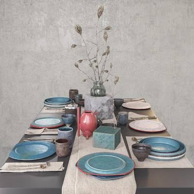 餐具, 饰品, 摆件