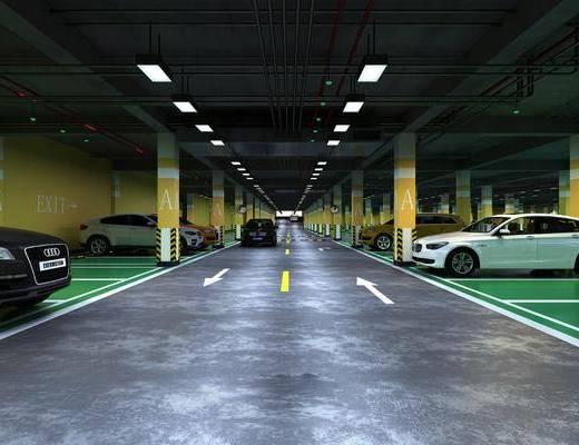 现代, 停车场