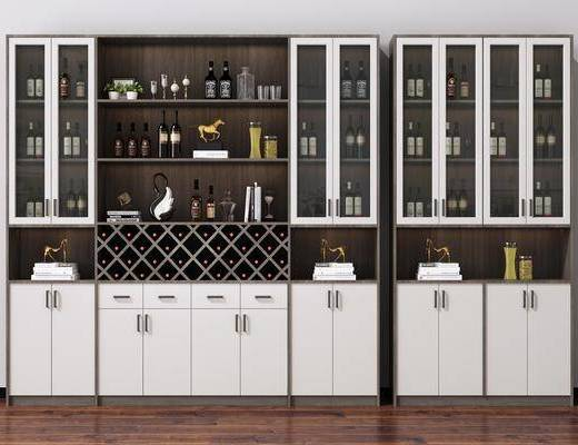 酒瓶, 裝飾品, 擺件組合, 酒柜