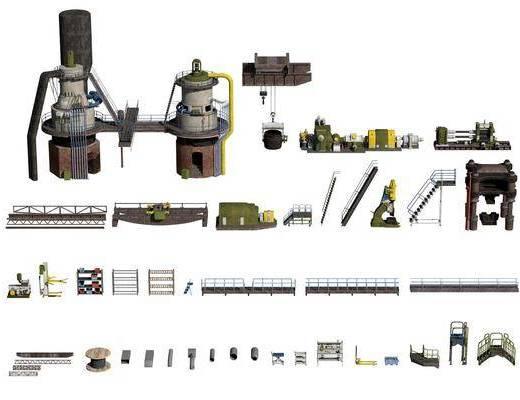 现代, 工业, 设备, 机器
