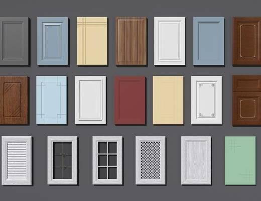 橱柜门板, 柜门, 现代