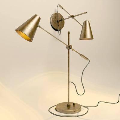 台灯, 壁灯, 工业风