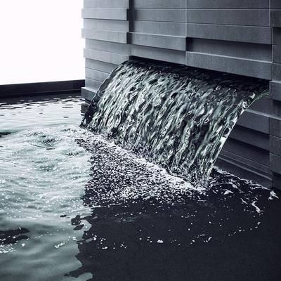 现代喷泉, 现代水池, 景观建筑