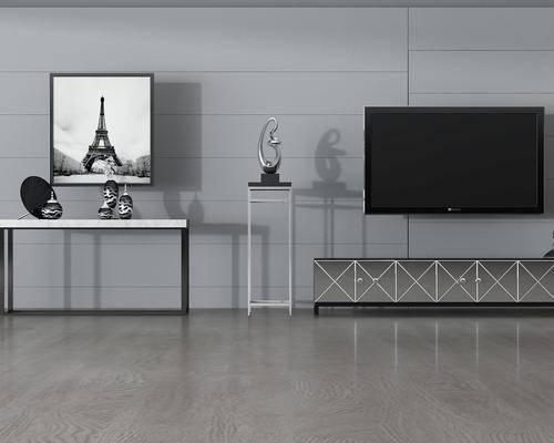 后现代, 柜台组合, 电视柜