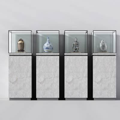 雕塑, 雕像, 雕刻, 中式, 陈设品, 摆件, 展柜