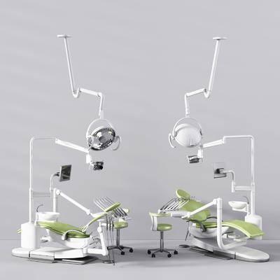牙科医疗, 医疗器械, 医疗设备, 牙科椅, 现代