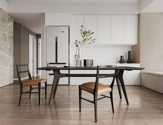现代餐厅, 餐桌椅