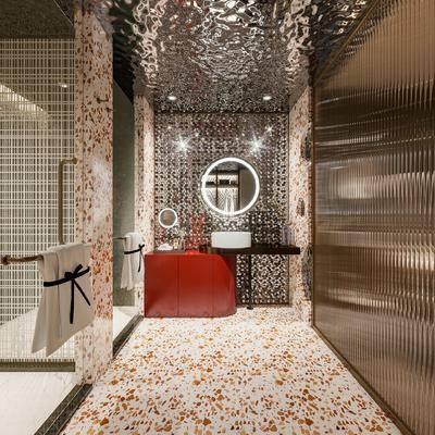 卫生间, 卫浴, 现代卫生间