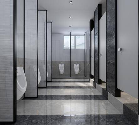 卫生间, 现代