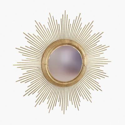 装饰镜, 镜子, 金属镜, 现代