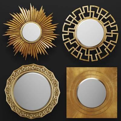 现代, 后现代, 金属, 镜子