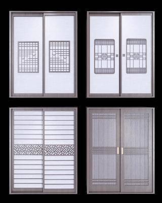衣柜, 新中式衣柜, 新中式