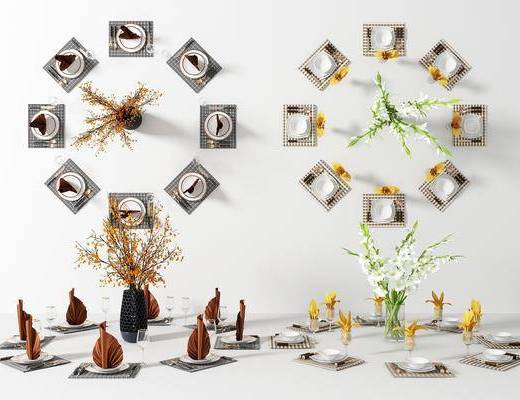 餐具, 餐盘组合, 现代
