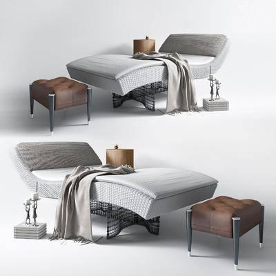 现代躺椅, 躺椅, 按摩床