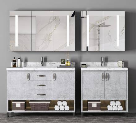 卫浴, 洗手盆, 柜架组合