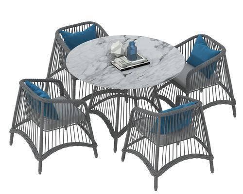 餐桌, 餐椅, 单人椅