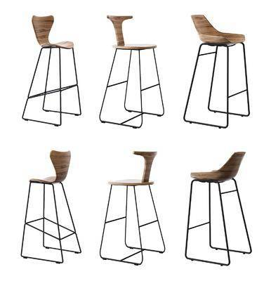 现代吧椅, 吧椅, 北欧吧椅