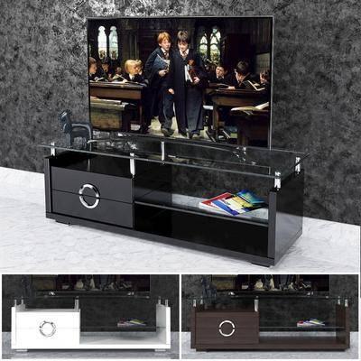 电视柜, 摆件, 现代