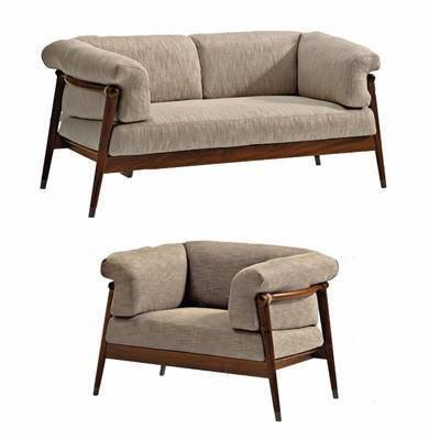 沙发组合, 单人沙发, 双人沙发