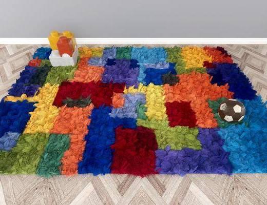 地毯, 方形地毯, 现代