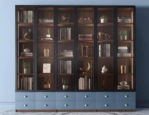 书柜, 边柜