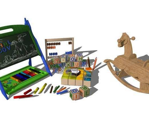 画具, 花架, 画笔, 玩具