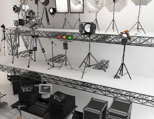 影楼设备, 直播厅, 演播厅, 舞台