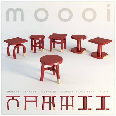 现代凳子, 红木凳