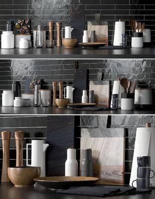 厨具, 餐具, 生活用品, 厨房, 现代, 北欧