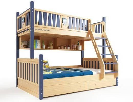 現代風格兒童床