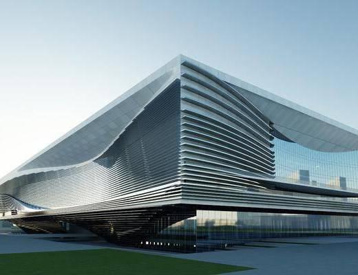现代, 建筑, 户外建筑, 体育馆