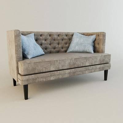 双人沙发, 沙发, 现代, 现代沙发