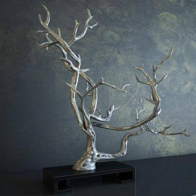 摆件, 枯树枝, 现代