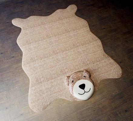 地铁, 现代, 小熊地毯, 异型地毯